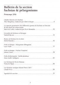 Sommaire - Bulletin Fuchsia 2016