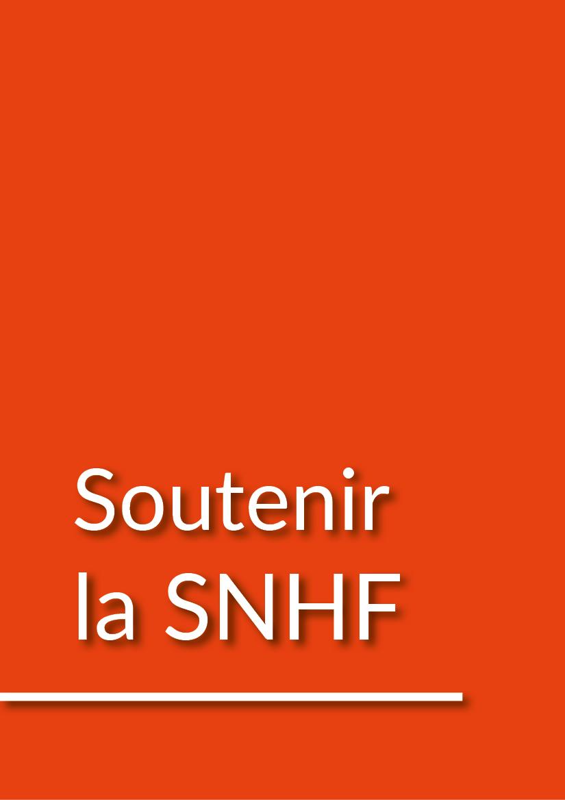 Soutenir la SNHF