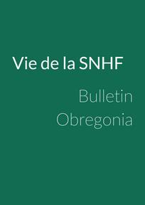 Bulletin Obregonia