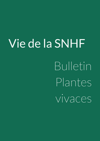 Bulletin Plantes Vivaces